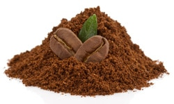 Coffee grounds for cellulite