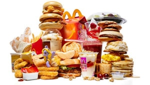 Fast Food - Foods That Cause Cellulite