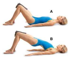 Glute squeeze cellulite exercise
