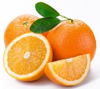Oranges - Foods that reduce cellulite